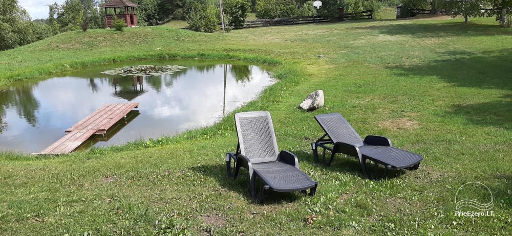 Atpūta lauku sētā ar pirti Varēnas reģionā, Lietuvā - 2