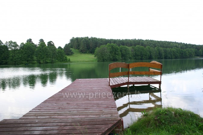 Brivdienas Lietuva - lauku seta pie ezera Traku rajona Vilkokšnio krantas - 4