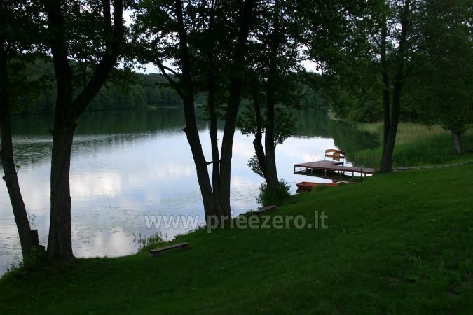 Brivdienas Lietuva - lauku seta pie ezera Traku rajona Vilkokšnio krantas - 5
