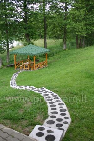 Brivdienas Lietuva - lauku seta pie ezera Traku rajona Vilkokšnio krantas - 8