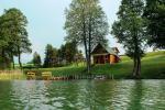 Brivdienas Lietuva - lauku seta pie ezera Traku rajona Vilkokšnio krantas - 3