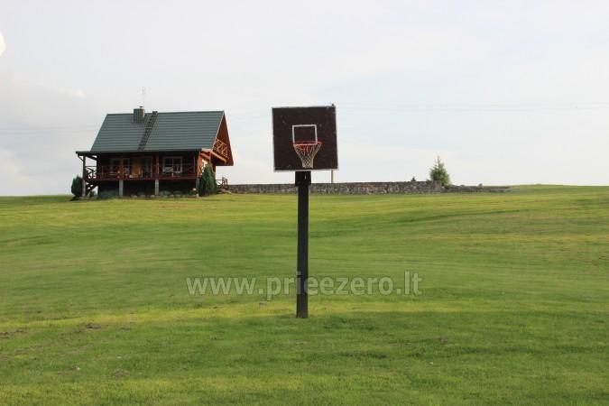 Brivdienas Lietuva - lauku seta pie ezera Traku rajona Vilkokšnio krantas - 10