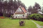 Maz māja  in Trakai rajonā pie ezera Vilkoksniai