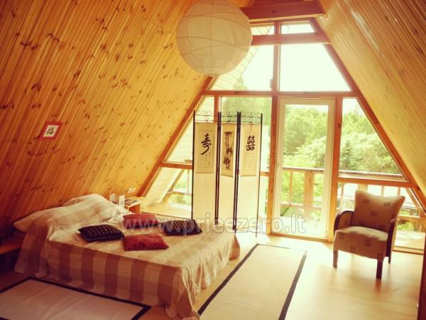 Maz māja  in Trakai rajonā pie ezera Vilkoksniai - 3