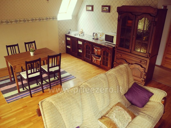 Maz māja  in Trakai rajonā pie ezera Vilkoksniai - 5