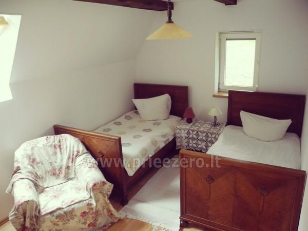 Maz māja  in Trakai rajonā pie ezera Vilkoksniai - 9
