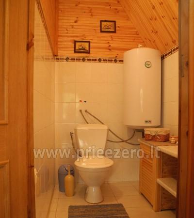Maz māja  in Trakai rajonā pie ezera Vilkoksniai - 10