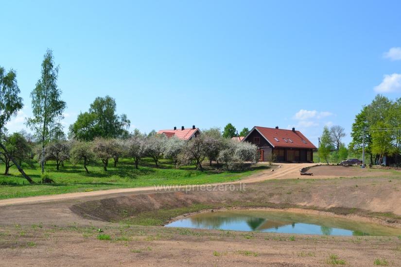 Viensēta pie ezera, no Viļņas 25km - 5