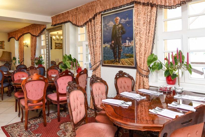 Unikāla vieta, kur uzturēties, ēst vai organizēt pasākumus Prie Peterso tilto: istabas, restorāns, zāles - 11