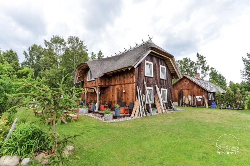 Viesu nami Pape Jurgi starp Baltijas jūru un Papes ezera - 11