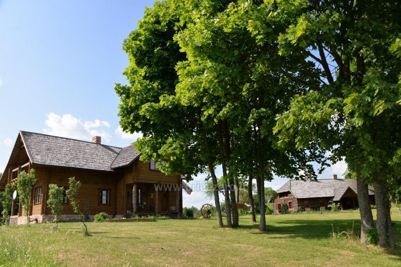 Lauku sēta Moletu rajona pie ezera Asveja Prie Melnyčios - 1