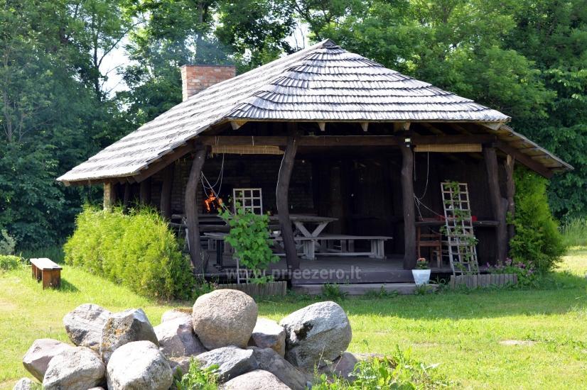 Lauku sēta Moletu rajona pie ezera Asveja Prie Melnyčios - 4