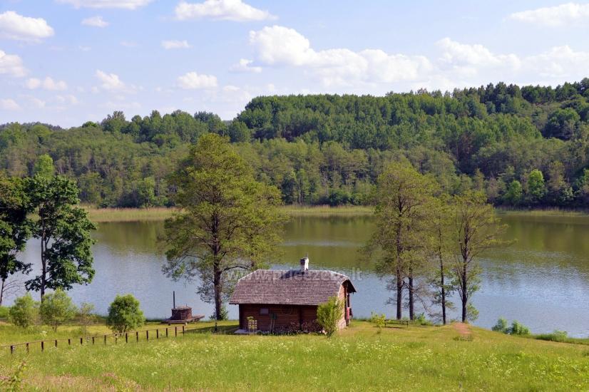 Lauku sēta Moletu rajona pie ezera Asveja Prie Melnyčios - 29