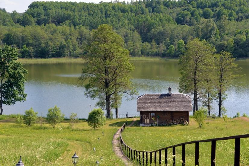 Lauku sēta Moletu rajona pie ezera Asveja Prie Melnyčios - 30