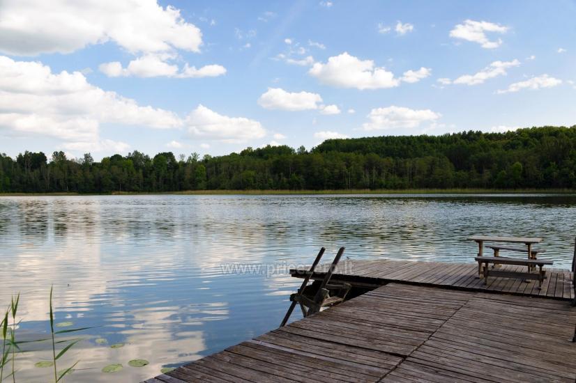 Lauku sēta Moletu rajona pie ezera Asveja Prie Melnyčios - 33
