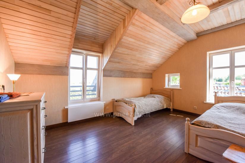 Atvaļinājums Minges Villa Minge līdz 12-14 personām: zāle, pirts, guļamistabas - 25
