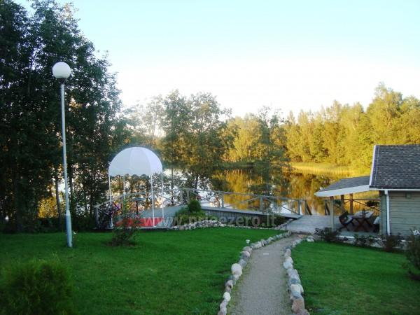 Villa pie ezera, kas Moletai rajonā - 9