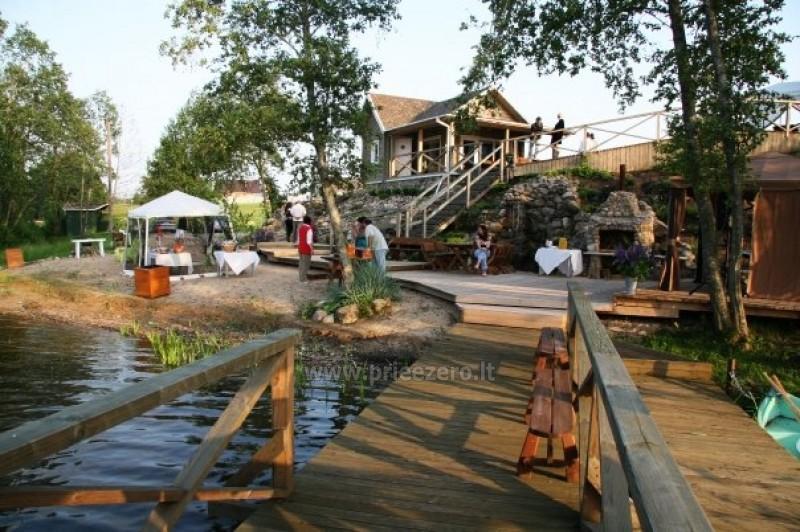 Villa pie ezera, kas Moletai rajonā - 11