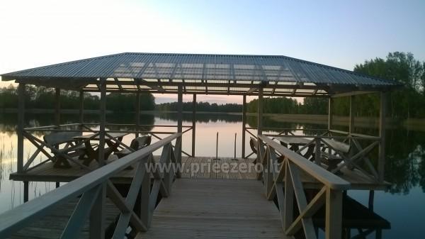 Villa pie ezera, kas Moletai rajonā - 7