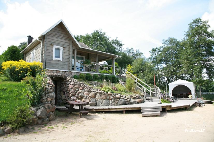 Villa pie ezera, kas Moletai rajonā - 6