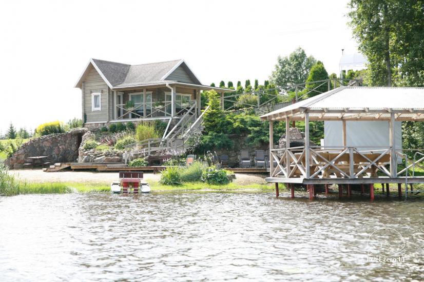 Villa pie ezera, kas Moletai rajonā - 1