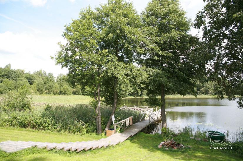 Villa pie ezera, kas Moletai rajonā - 30