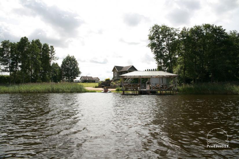 Villa pie ezera, kas Moletai rajonā - 23