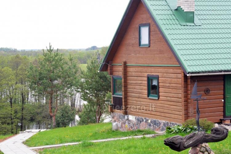 Brīvdienu sēta ar Moletai rajonā pie ezera Lukstas - 13