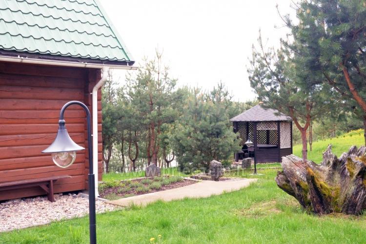 Brīvdienu sēta ar Moletai rajonā pie ezera Lukstas - 14