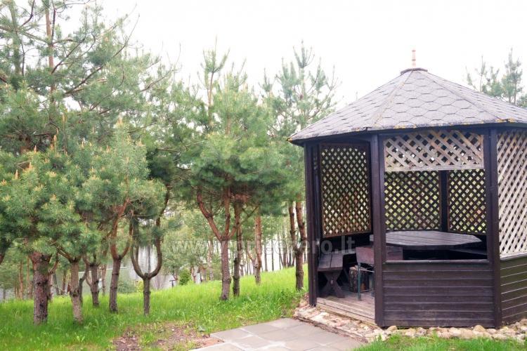 Brīvdienu sēta ar Moletai rajonā pie ezera Lukstas - 23
