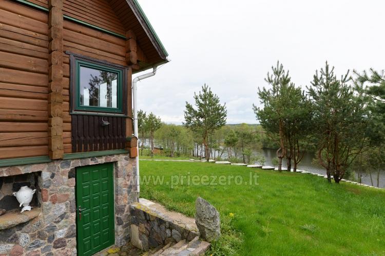 Brīvdienu sēta ar Moletai rajonā pie ezera Lukstas - 18
