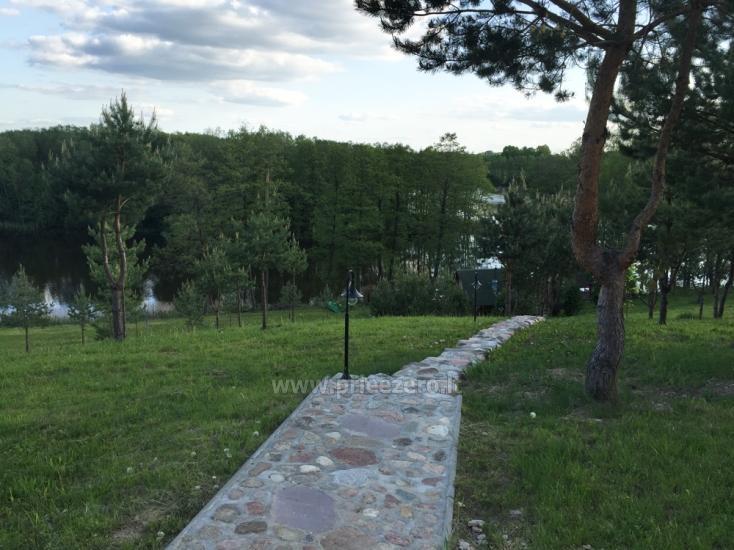 Brīvdienu sēta ar Moletai rajonā pie ezera Lukstas - 48