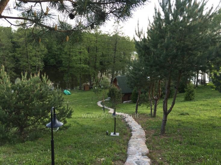 Brīvdienu sēta ar Moletai rajonā pie ezera Lukstas - 50
