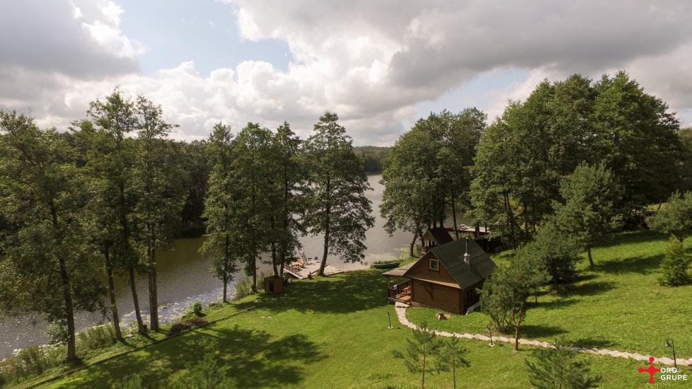 Brīvdienu sēta ar Moletai rajonā pie ezera Lukstas - 25