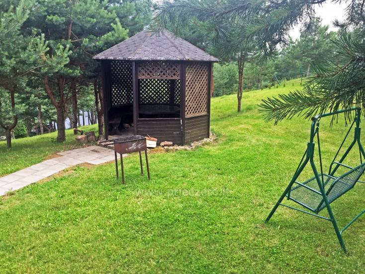 Brīvdienu sēta ar Moletai rajonā pie ezera Lukstas - 22