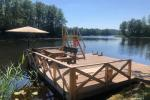 Brīvdienu sēta ar Moletai rajonā pie ezera Lukstas - 5