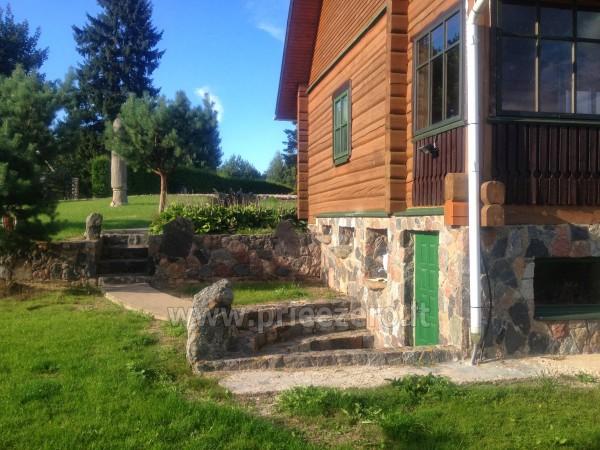 Brīvdienu sēta ar Moletai rajonā pie ezera Lukstas - 17