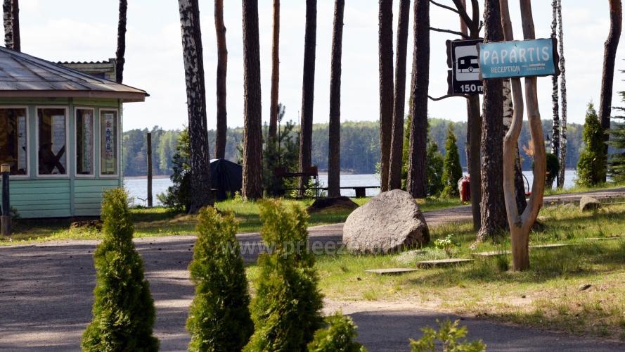 Dzīvokļi, istabas brīvdienu mājas, kempingi pie ezera - 3