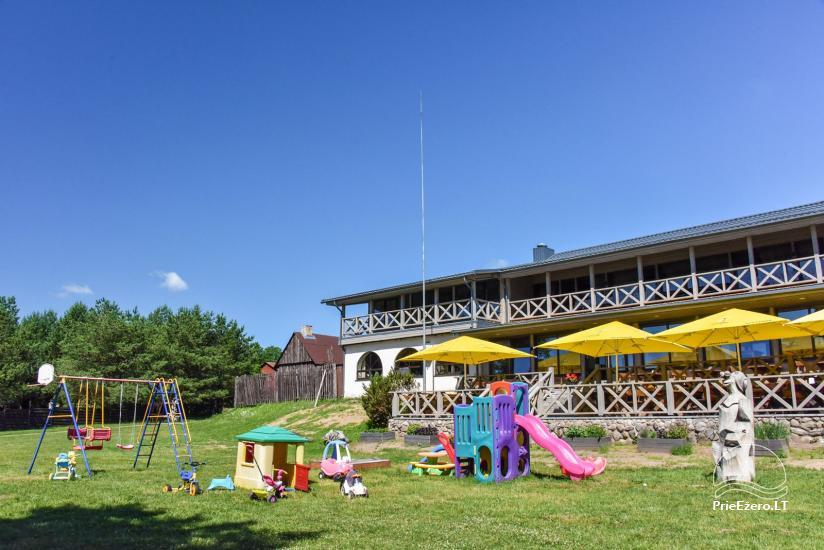 Lauku māja un kafejnīca Kurėnų užeiga ezera krastā Ukmerges rajonā - 29