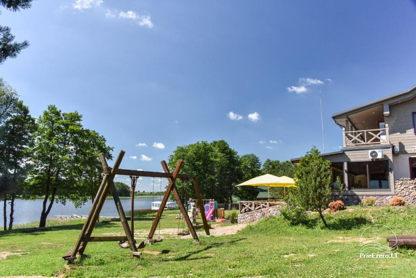 Lauku māja un kafejnīca Kurėnų užeiga ezera krastā Ukmerges rajonā - 2