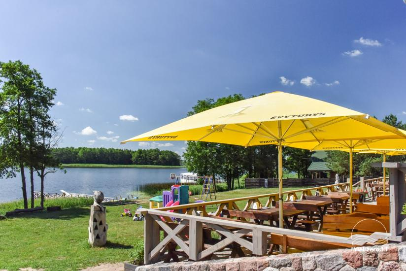 Lauku māja un kafejnīca Kurėnų užeiga ezera krastā Ukmerges rajonā - 32