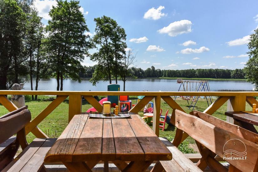 Lauku māja un kafejnīca Kurėnų užeiga ezera krastā Ukmerges rajonā - 33