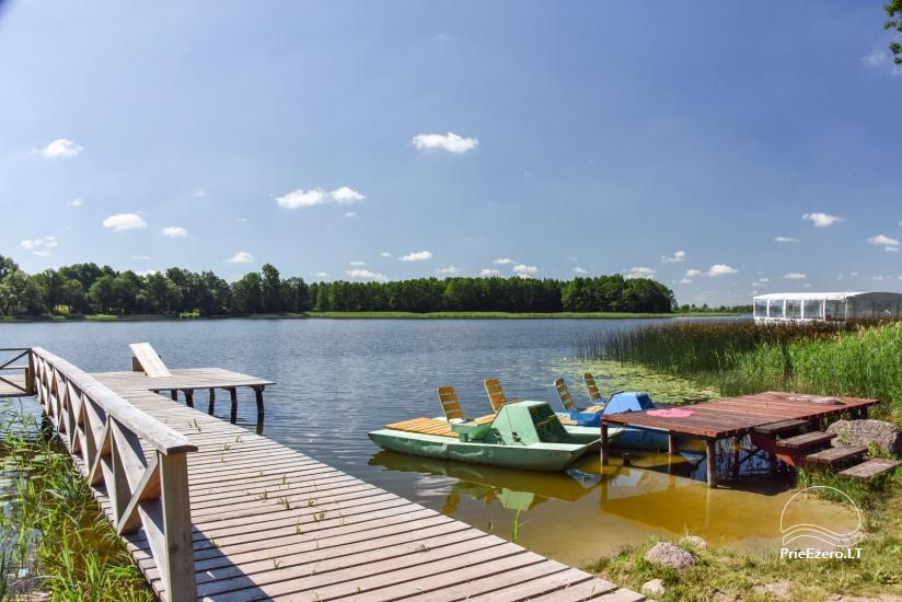 Lauku māja un kafejnīca Kurėnų užeiga ezera krastā Ukmerges rajonā - 5