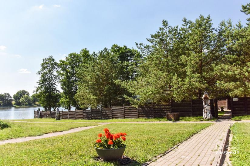 Lauku māja un kafejnīca Kurėnų užeiga ezera krastā Ukmerges rajonā - 7