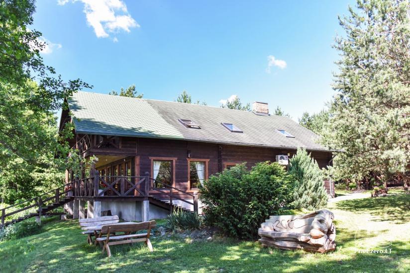Lauku māja un kafejnīca Kurėnų užeiga ezera krastā Ukmerges rajonā - 8
