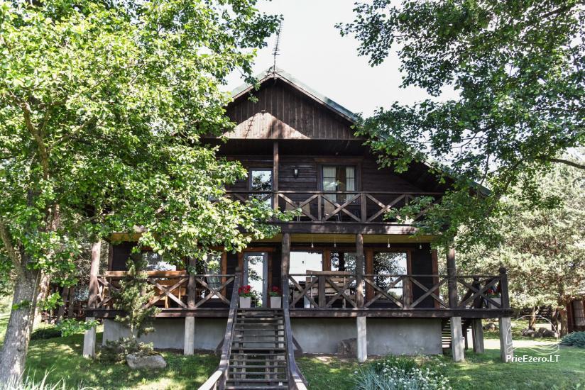 Lauku māja un kafejnīca Kurėnų užeiga ezera krastā Ukmerges rajonā - 9