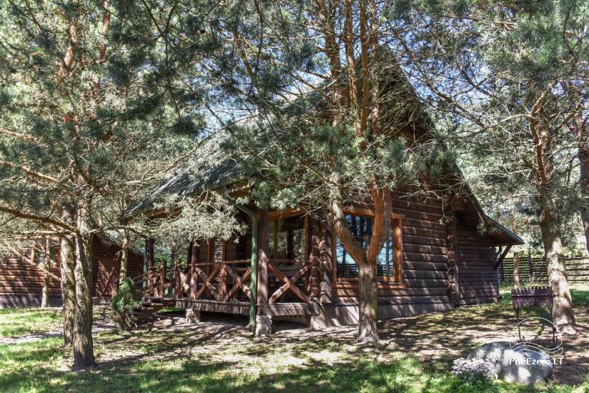 Lauku māja un kafejnīca Kurėnų užeiga ezera krastā Ukmerges rajonā - 17