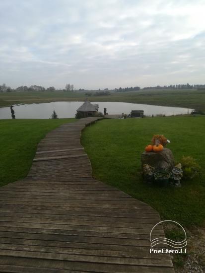 Sēta Raganyne in Kelmes rajonā, pie ezera Gilius - 2