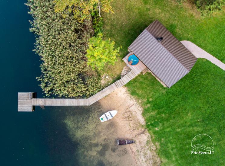 Viensēta 5 stories pie ezera Utenas rajona - 21
