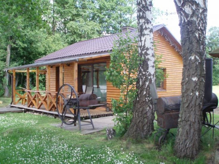Villa Grutas ezera krastā - pirts ar kublu, brīvdienu māja - 1